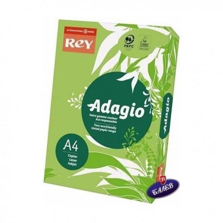 ADAGIO картон Spring Green А4 250л.