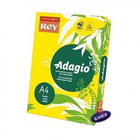 ADAGIO картон Yellow А4 250л.