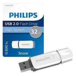 PHILIPS USB FLASH 32GB SNOW