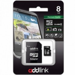 ADDLINK MICRO SD 8GB CL4+АДАП.