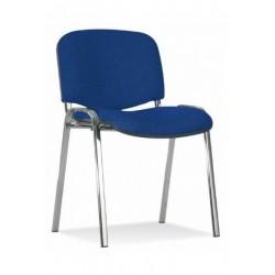 Посетителски стол ISO CHROME син