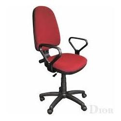 Работен стол PRESTIGE GTP + подлакътници бордо