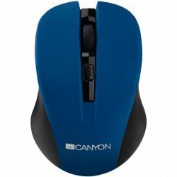 Мишка безжична CANYON CMSW1BL синя