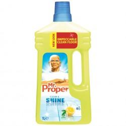 Mr. Proper Препарат за почистване, универсален, лимон, 1 L