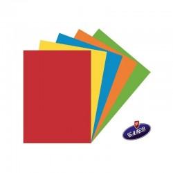 Цветна хартия – 250 листа наситени цветове микс А4