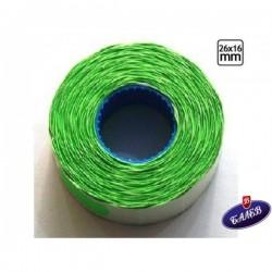 Blitz Етикети 26/16 *Клещи S16 зелен