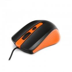 Mишка OMEGA OM-05 3D оранжева