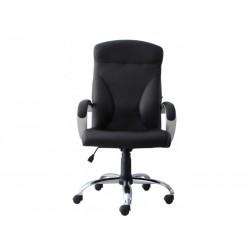 Директорски стол RIGA STEEL черен
