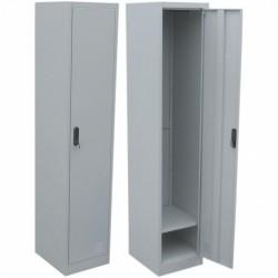 Метален гардероб единичен 300/450/1850 мм.