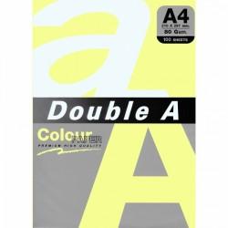DOUBLE A хартия А4 100л жълта