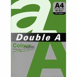 DOUBLE A хартия А4 100л Neon Green