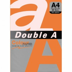DOUBLE A хартия А4 100л Neon Orange