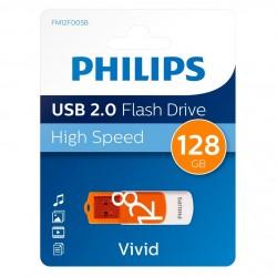 PHILIPS USB FLASH 128GB VIVID 2.0