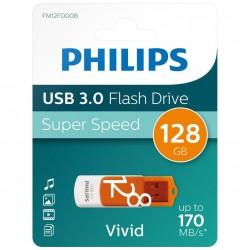 PHILIPS USB FLASH 128GB VIVID 3.0