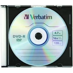 VERBATIM DVD-R 4,7GB SC