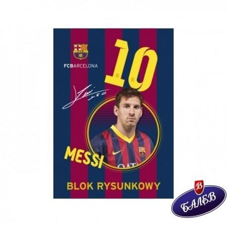 Скицник FC Barcelona A4 20л