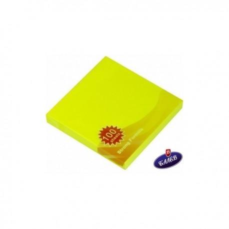 STICKY MS СЗЛ 75/75 неон жълт