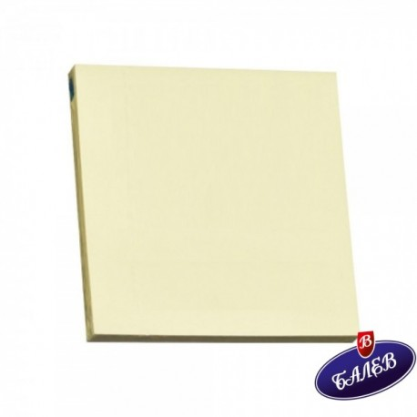 STICKY MS СЗЛ 75/75 пастел жълт